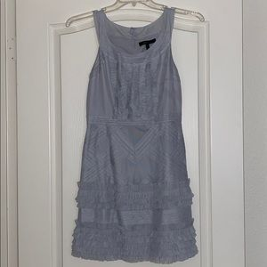 BcbgMaxazria Pearl Grey Annie dress, used.